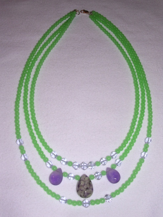 green-purple 3 strand