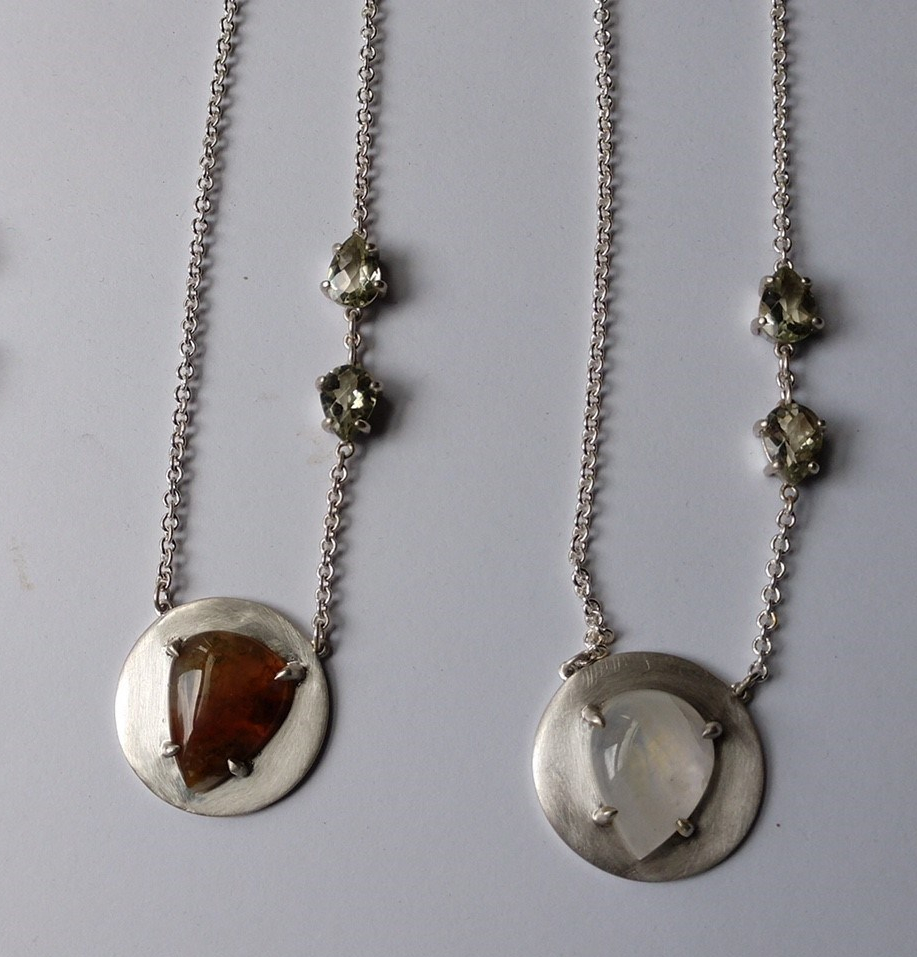 disc necklaces